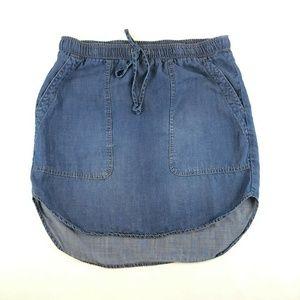 Chelsea & Violet Anthropologie Sz S chambray Skirt